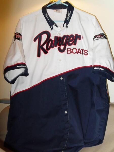 Ranger bass fishing tournament shirt free classifieds for Bass fishing tournament shirts