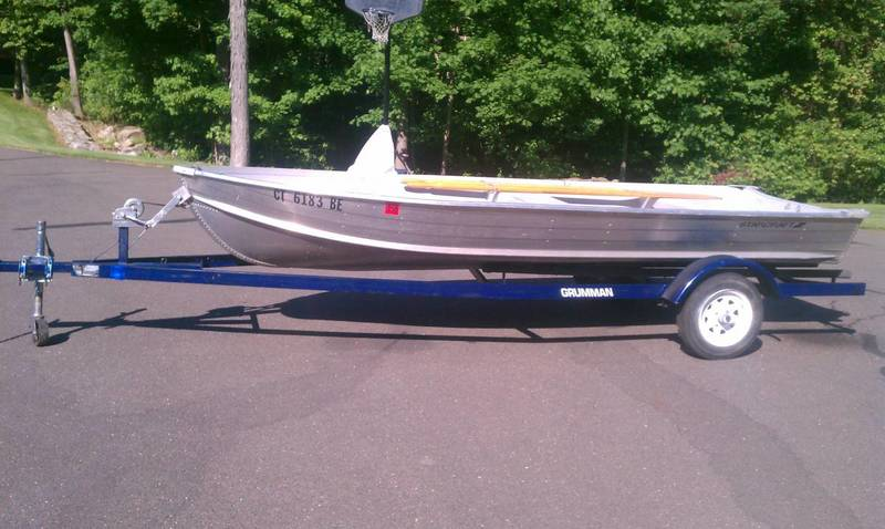 14 39 starcraft aluminum boat and kristi trailer sold Aluminum boat and motor packages