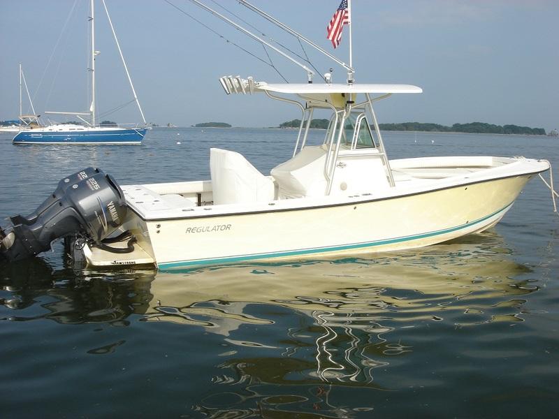 Boat is located in Norwalk, CT. $72500 2003 Regulator 26 FS