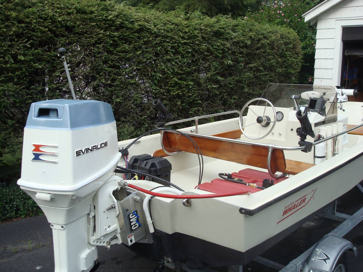 1985 boston whaler 15 center console free classifieds for Gps trolling motor for sale