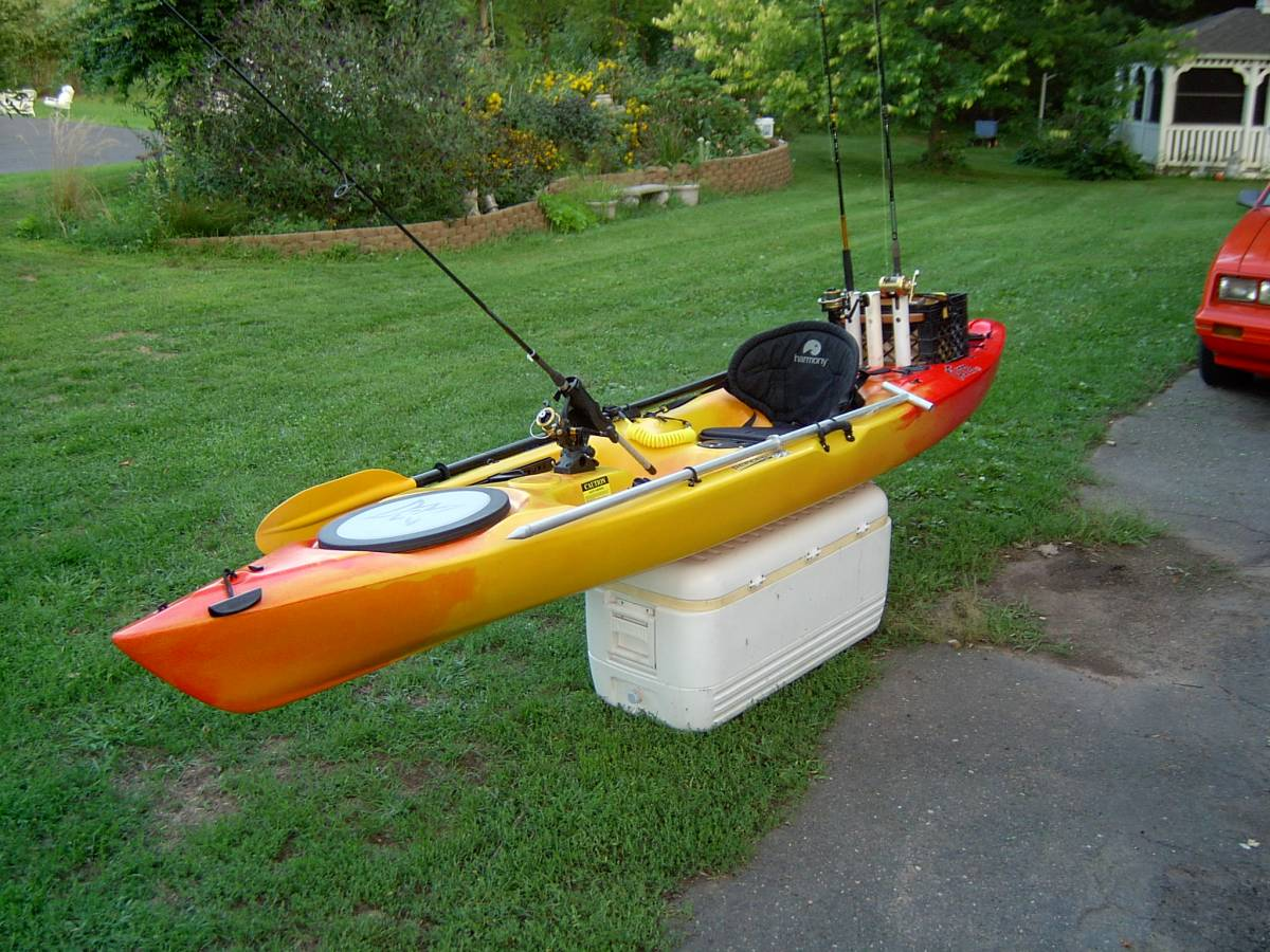 Fishing kayak sold free classifieds buy sell for Kayak fishing pole holder