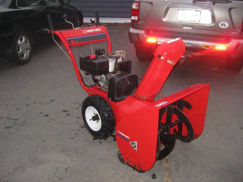 Snow Blower With Heated Handles Shop Troy Bilt Arctic