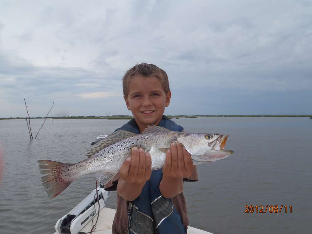 Bubbie goes fishing in empire saltwater reports for Ct saltwater fishing report