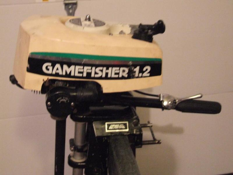 Gamefisher 1 2 hp outboard motor for sale free for 1 2 hp motor