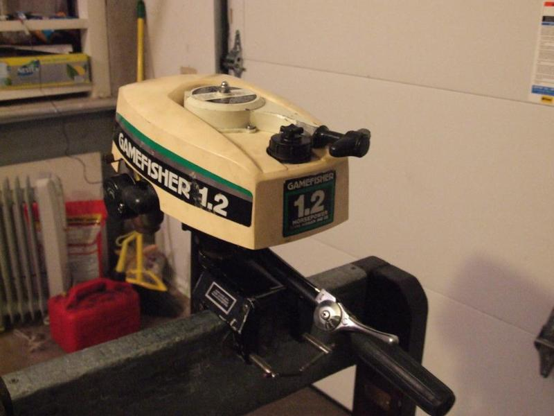 Gamefisher 1 2 Hp Outboard Motor For Sale Free