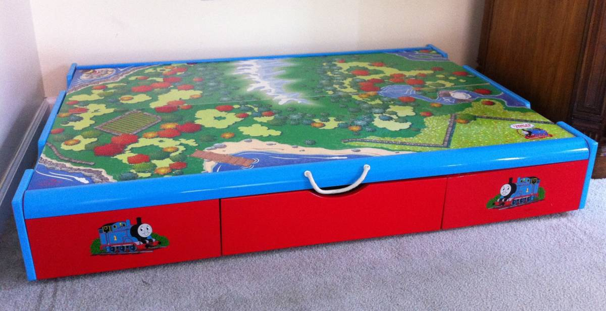 Exceptional Thomas The Train   Under The Bed Trundle Table $75 | Free Classifieds  Buy,  Sell, Trade, Want Ads, Etc. | Ctfisherman.com