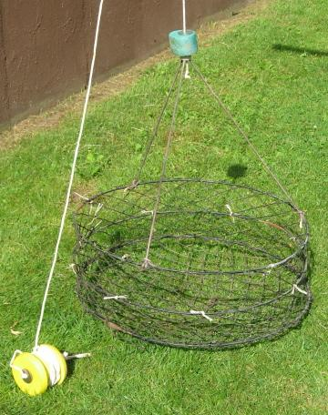 Crab traps free classifieds buy sell trade want ads for Fishing pole crab trap