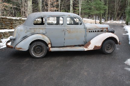 1936 dodge brothers d2 4 door project complete rolling for 1936 dodge 4 door sedan