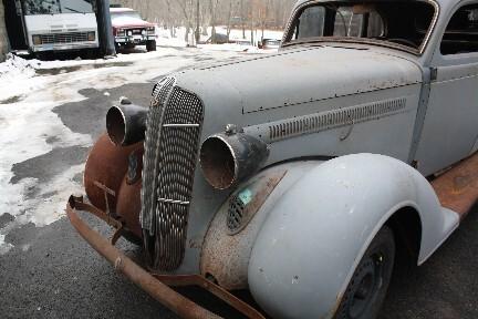 1936 dodge brothers d2 4 door project complete rolling for Industrial electric motors danbury ct