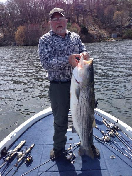 Anybody know about a striper caught in candlewood for Lake wallenpaupack fishing report