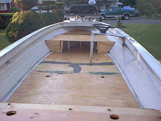 Aluminum boat floor plans gurus floor for Aluminum flooring
